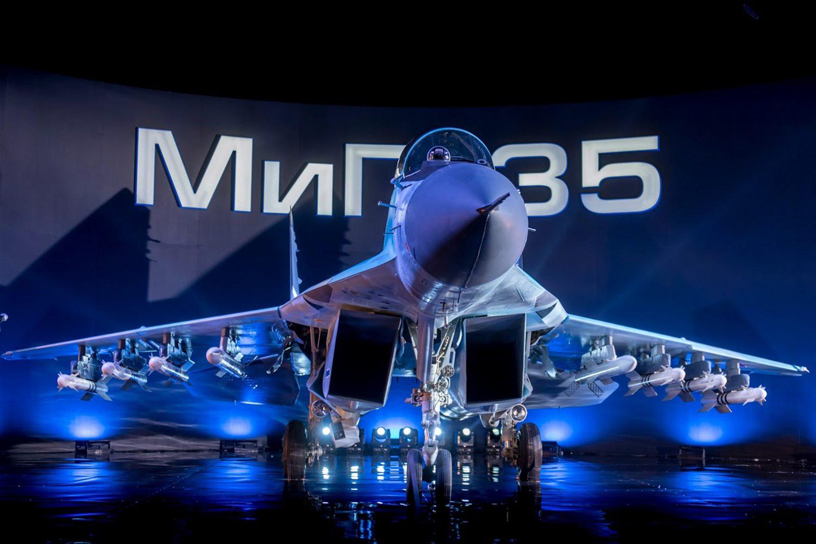 O MiG-35 é compatível com toda a gama de bombas guiadas a laser KAB-500, TV e GLONASS, o que deve permitir que ele lide com algumas das operações de combate de alta intensidade que seriam excessivas para o seu antecessor.